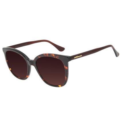 Óculos de Sol Feminino Chilli Beans Redondo Tartaruga OC.CL.3084-5706