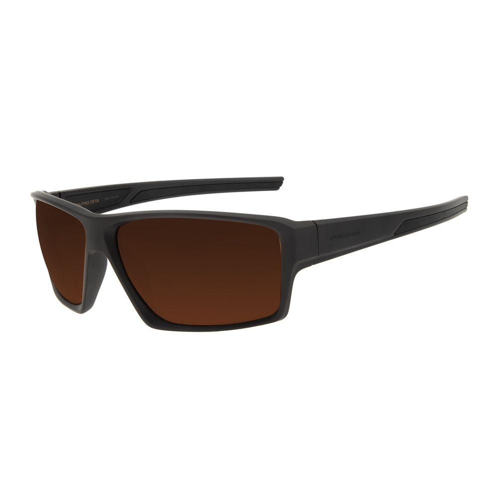 Óculos de Sol Masculino Chilli Beans Performance Marrom OC.ES.1241-0202