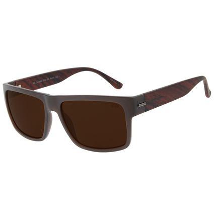 Óculos de Sol Masculino Chilli Beans Bossa Nova Marrom OC.CL.3094-0202