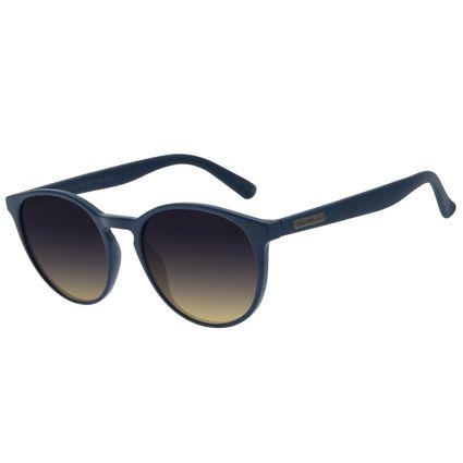 Óculos de Sol Unissex Lollapalooza Brasil Redondo Azul OC.CL.3154-8390
