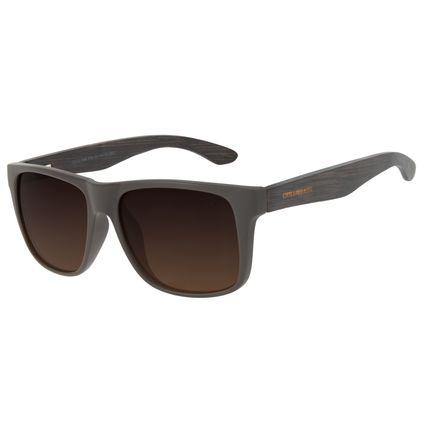 Óculos de Sol Unissex Chilli Beans Bamboo Bossa Nova Marrom Polarizado OC.CL.3185-5702