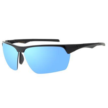 Óculos de Sol Masculino Chilli Beans Flutuante Azul Espelhado OC.ES.1223-0101