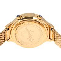 Relógio Digital Feminino Funk-se Ludmilla Facetado Metal Dourado RE.MT.1163-2121.7