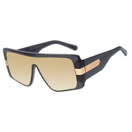 Óculos de Sol Feminino Funk-se Ludmilla Máscara Preto OC.CL.3203-2001