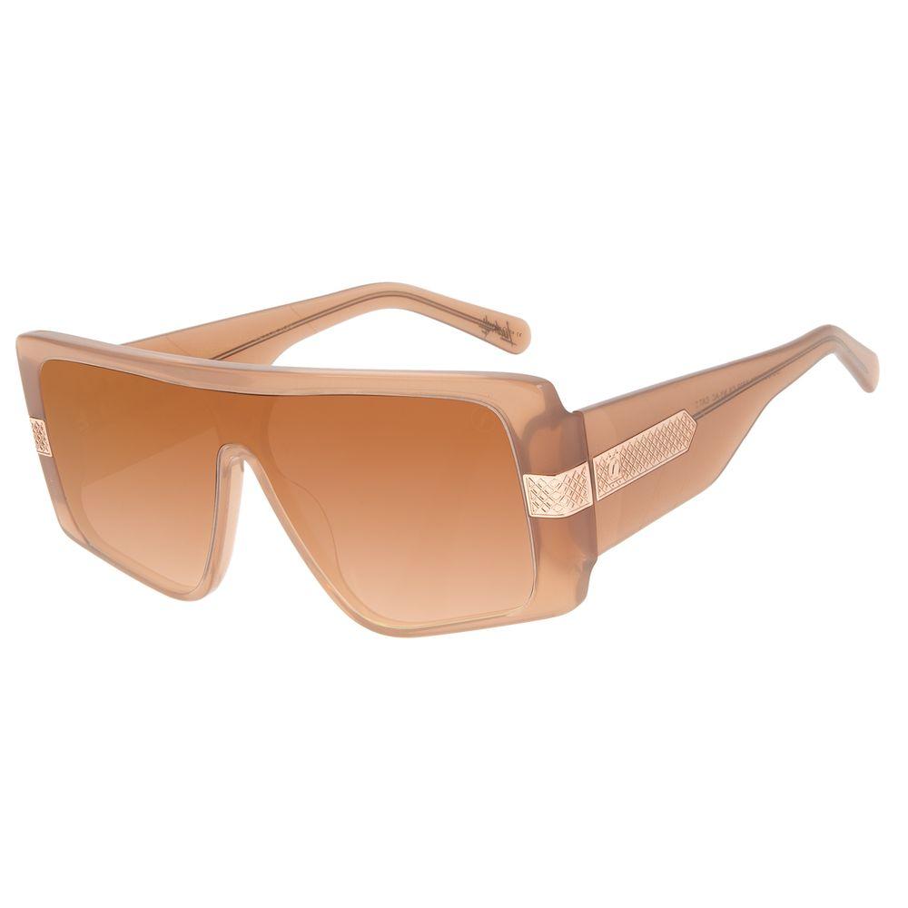 Óculos de Sol Feminino Funk-se Ludmilla Máscara Bege OC.CL.3203-5723