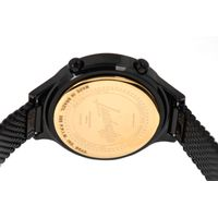 Relógio Digital Feminino Funk-se Ludmilla Facetado Metal Preto RE.MT.1163-0101.7