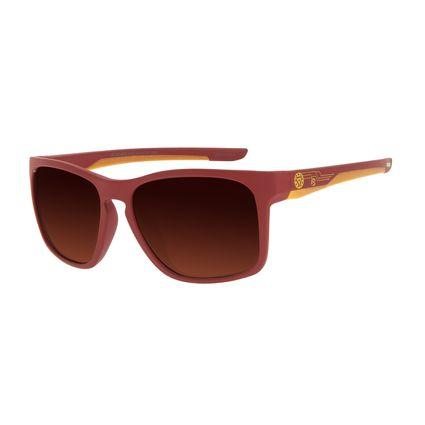 Óculos de Sol Infantil Marvel Homem de Ferro Quadrado Vermelho OC.KD.0663-5716