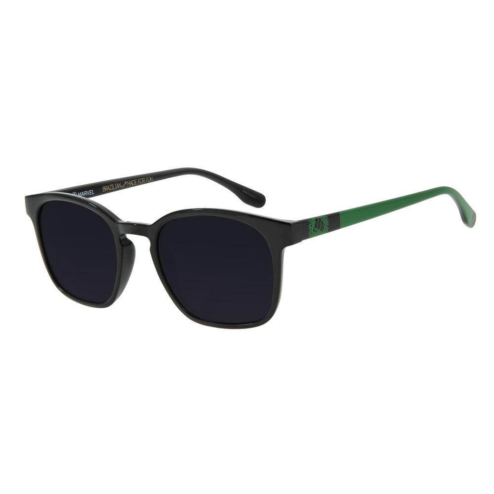 Óculos de Sol Infantil Marvel Hulk Bossa Nova Preto OC.KD.0680-0101