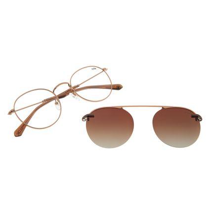 Armação Para Óculos de Grau Unissex Alok Polarizado Marrom LV.MU.0328-5702