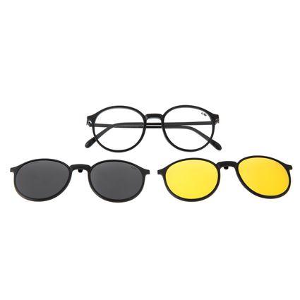 Armação Para Óculos de Grau Unissex Chilli Beans Multi Lente Fosco Polarizado LV.MU.0506-2031