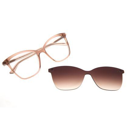 Armação Para Óculos de Grau Feminino Chilli Beans Multi Quadrado Rose LV.MU.0418-5795