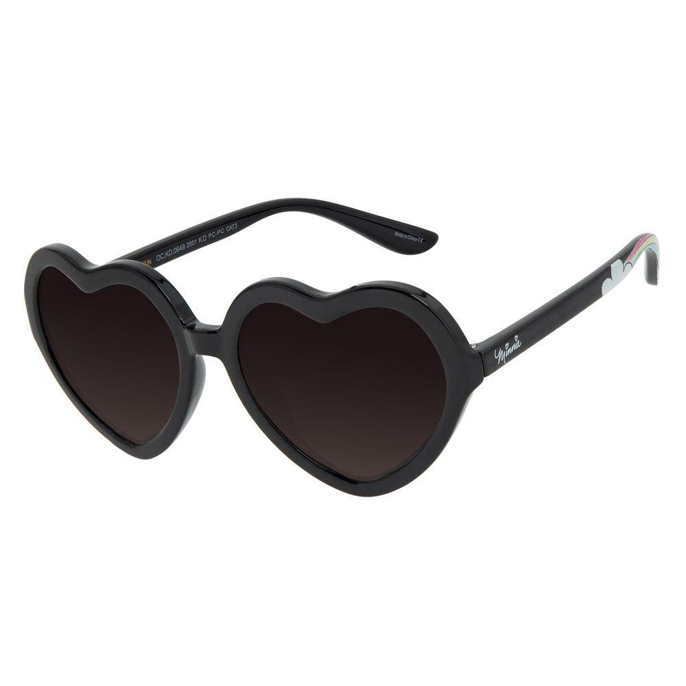 Óculos de Sol Infantil Disney Minnie Coração Preto OC.KD.0649-2001