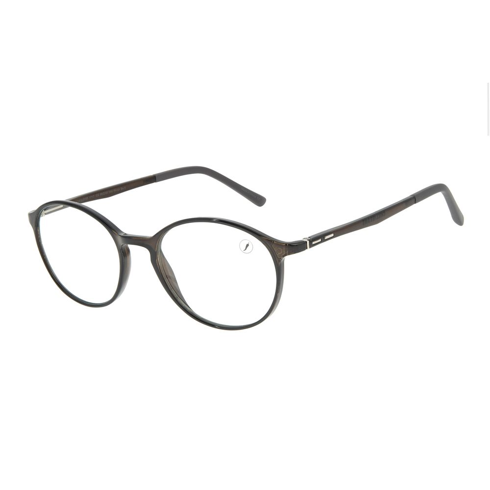 Armação Para Óculos de Grau Unissex Chilli Beans Redondo Vinho LV.IJ.0185-1717