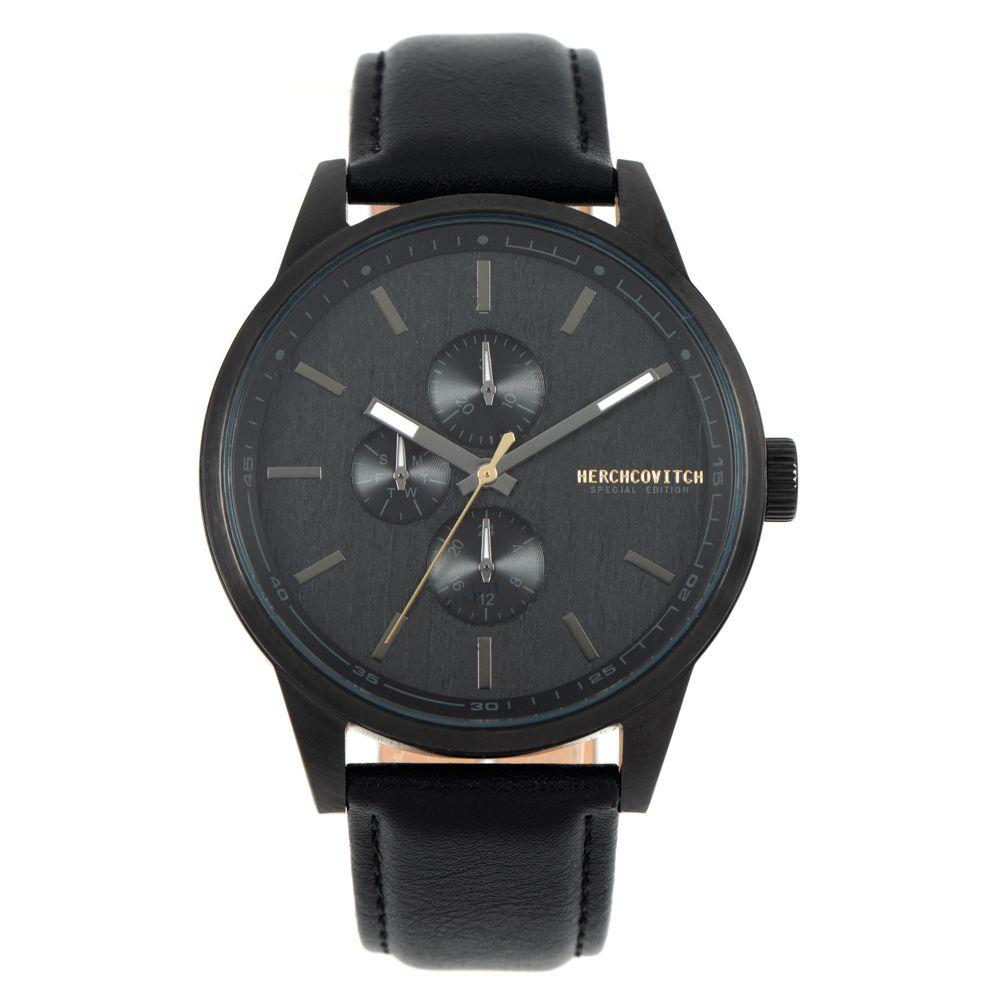 Relógio Analógico Masculino Alexandre Herchcovitch Wood Preto RE.CR.0445-0101