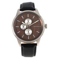 Relógio Analógico Masculino Herchcovitch Wood Marrom RE.CR.0445-0201