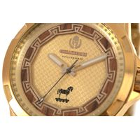 Relógio Analógico Masculino Loucuras da Nobreza Troia Dourado RE.MT.1156-2121.5
