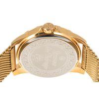 Relógio Analógico Masculino Loucuras da Nobreza Troia Dourado RE.MT.1156-2121.6
