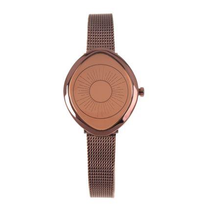 Relógio Digital Feminino Chilli Beans Eye Marrom RE.MT.1017-0202