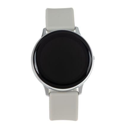 Relógio Smartwatch LCD Unissex Chilli Beans Reverse Metal Prata RE.SW.0002-0707
