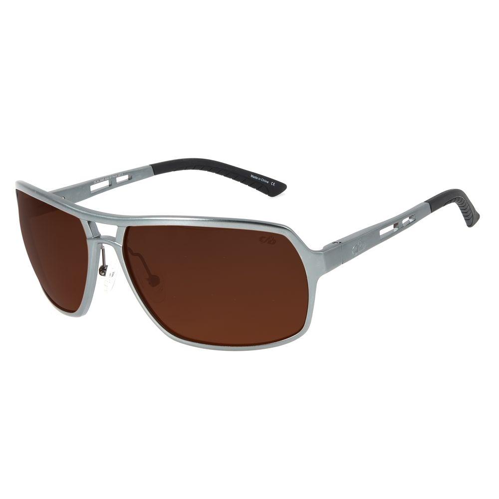 Óculos de Sol Masculino Chilli Beans Essential Executivo Polarizado Ônix OC.AL.0045-0222