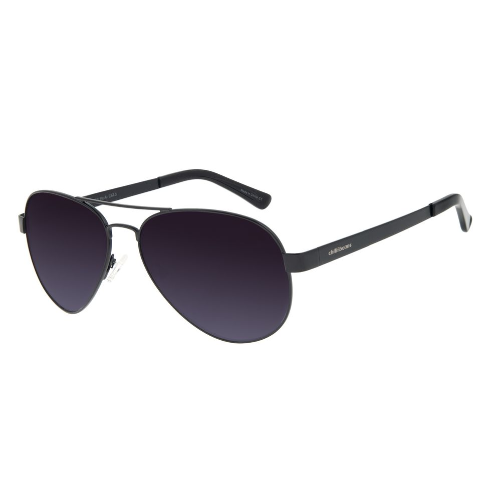 Óculos de Sol Unissex Chilli Beans Aviador Fosco OC.MT.2921-2031