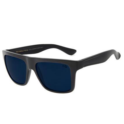 Óculos de Sol Masculino Chilli Beans Bossa Nova Classic Azul Preto OC.CL.2199-0801