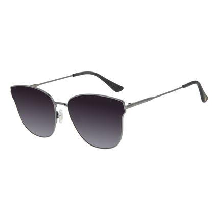 Óculos de Sol Feminino Chilli Beans Quadrado Degradê Ônix OC.MT.2913-2095