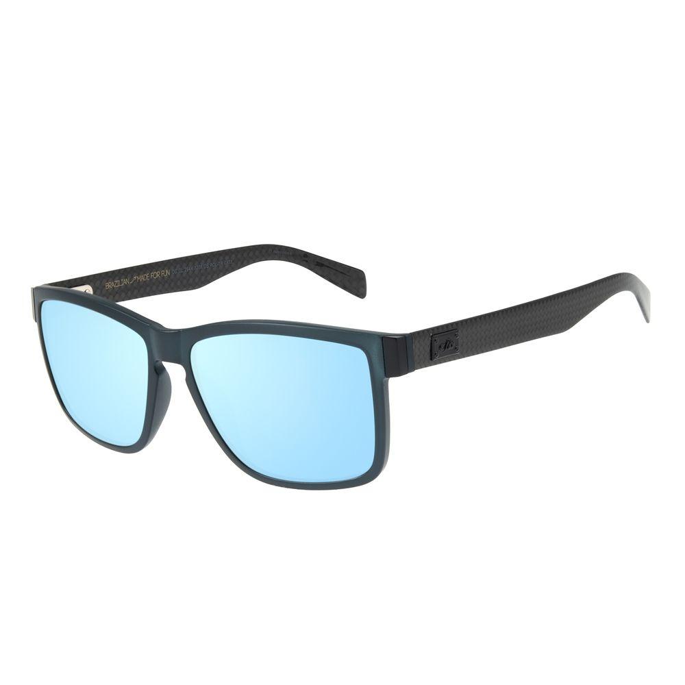 Óculos de Sol Masculino Chilli Beans Bossa Nova Azul Espelhado Polarizado OC.CL.2944-3208