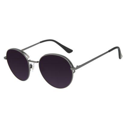 Óculos de Sol Feminino Chilli Beans Redondo Flap Fosco OC.MT.2583-2031