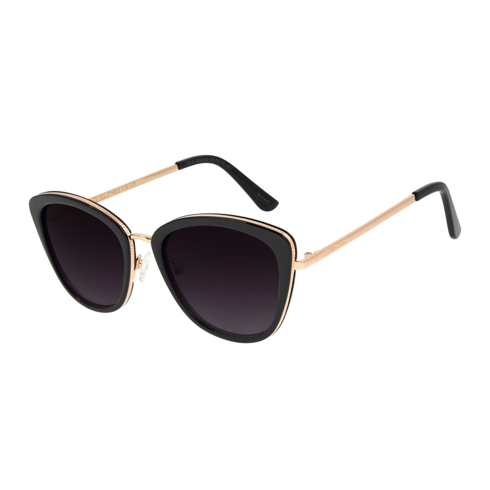 Óculos de Sol Feminino Chilli Beans Trend Cat Preto OC.CL.3020-2001