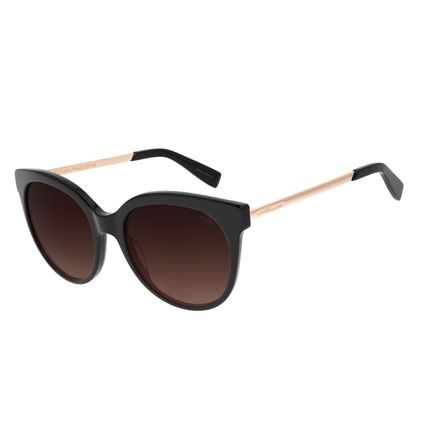 Óculos de Sol Feminino Chilli Beans Quadrado Classic Preto OC.CL.3045-5701
