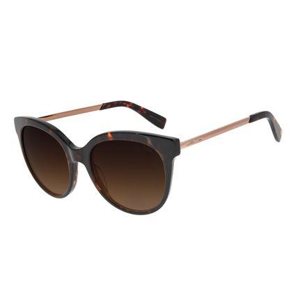 Óculos de Sol Feminino Chilli Beans Quadrado Classic Tartaruga OC.CL.3045-5706