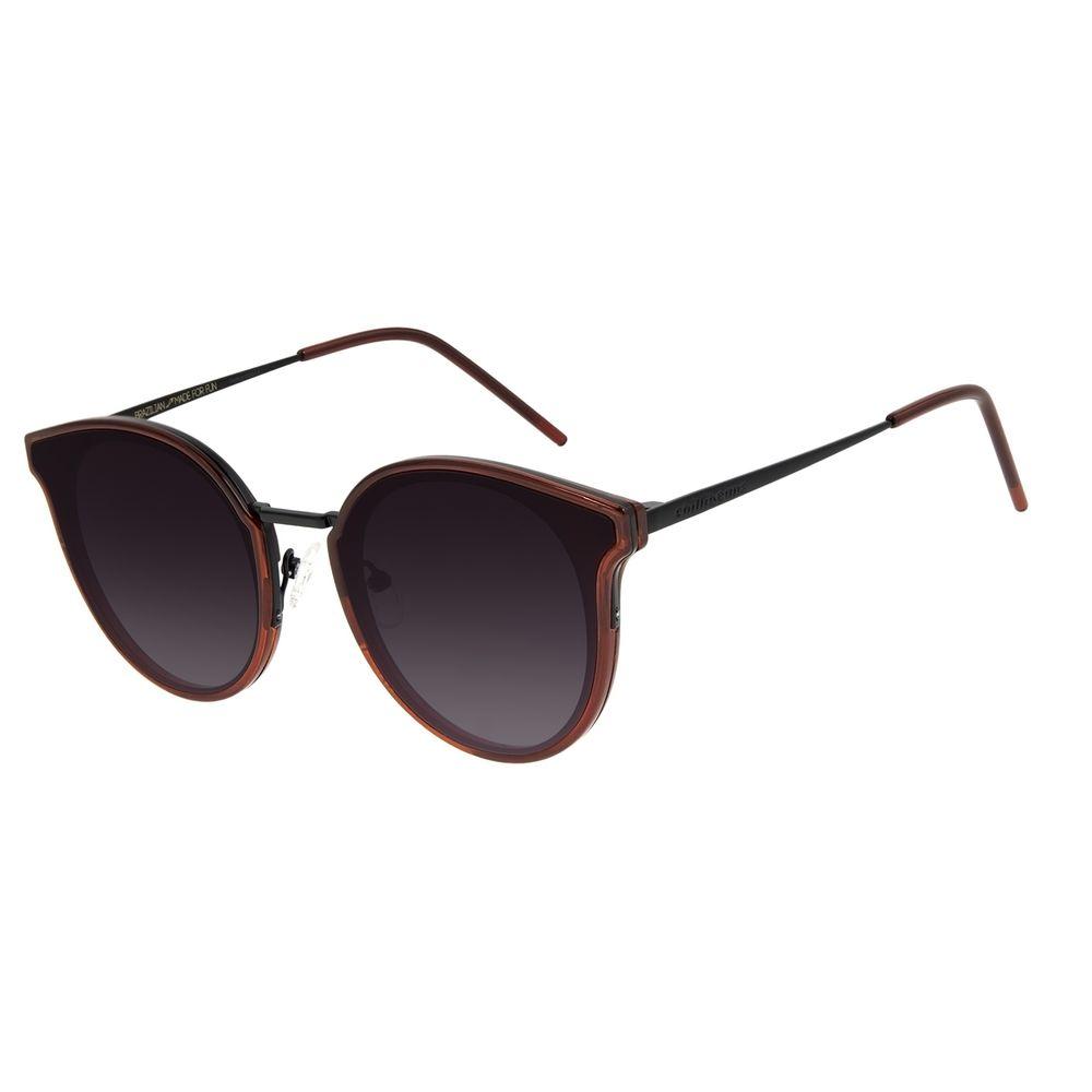 Óculos de Sol Feminino Chilli Beans Casual Redondo Vinho OC.CL.3135-2017
