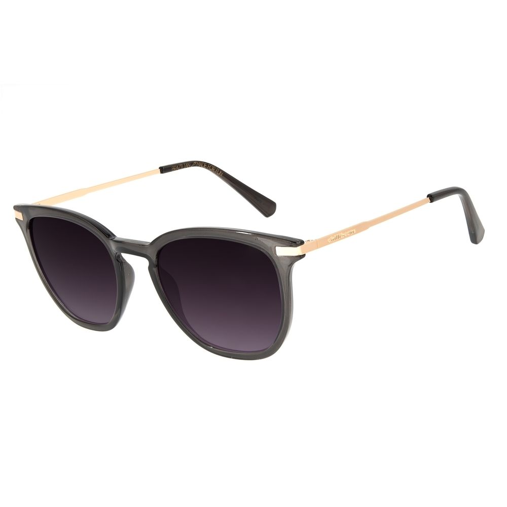 Óculos de Sol Feminino Chilli Beans Basic Quadrado Preto OC.CL.3136-2001