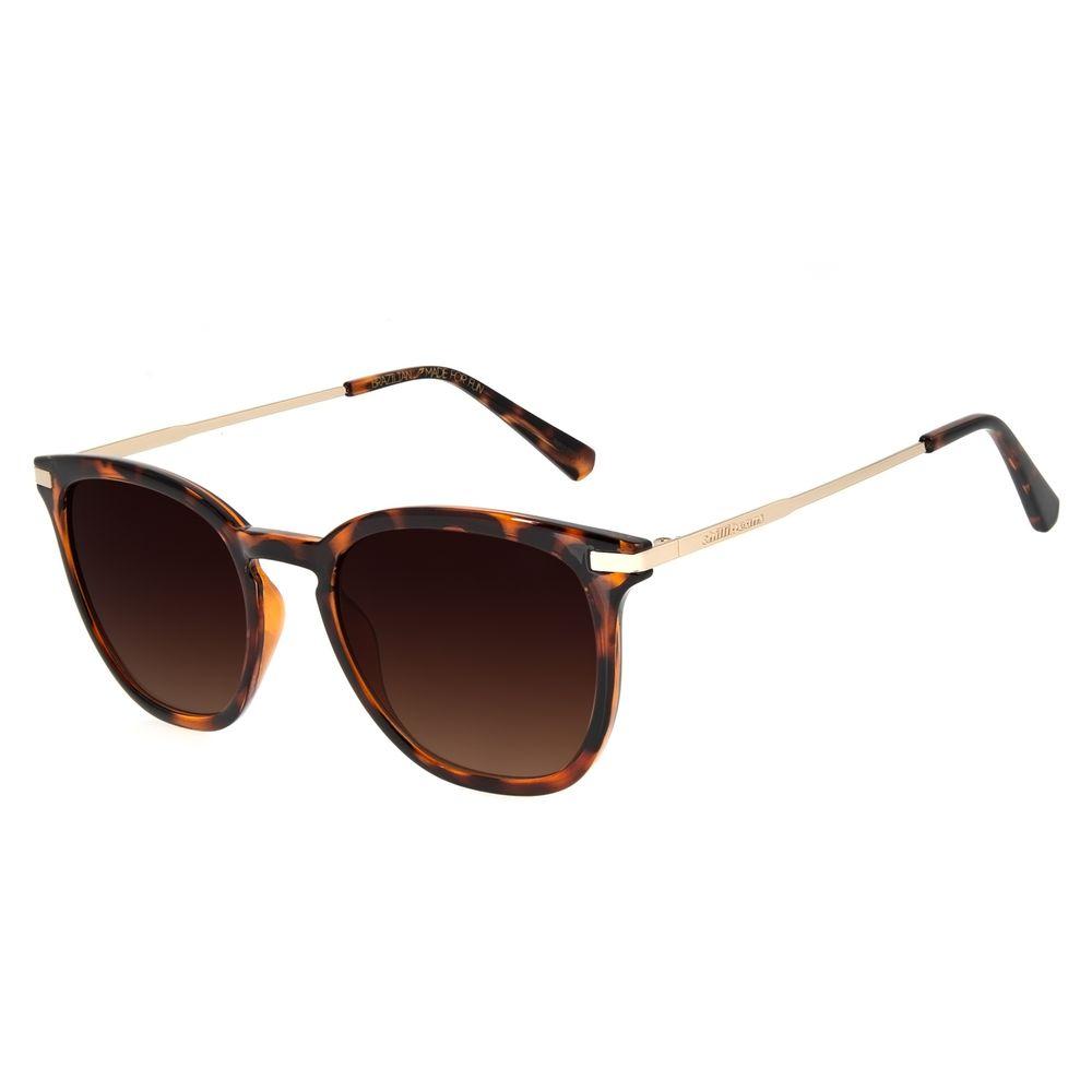 Óculos de Sol Feminino Chilli Beans Basic Quadrado Tartaruga OC.CL.3136-5706