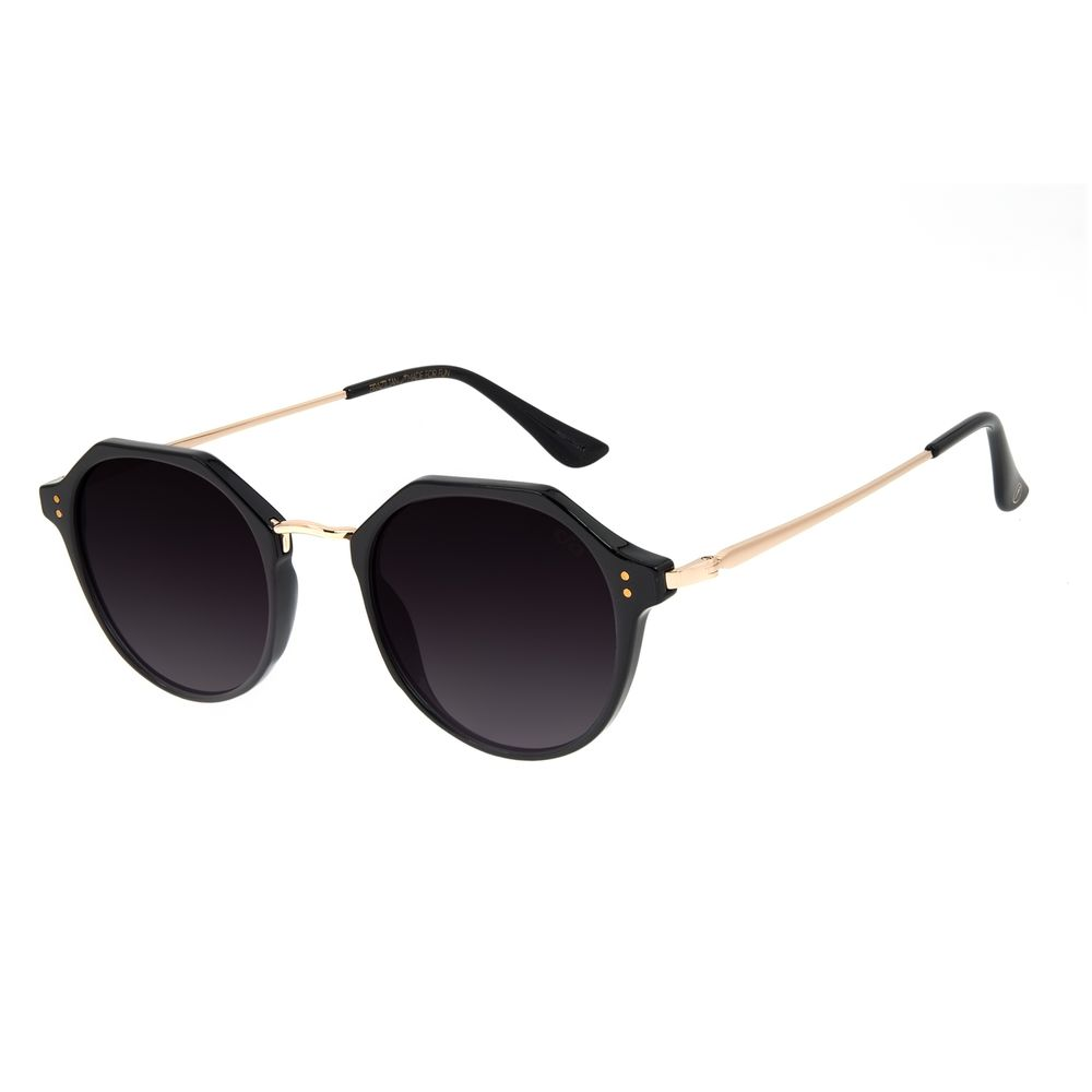 Óculos de Sol Unissex Chilli Beans Redondo Degradê OC.CL.3137-2001