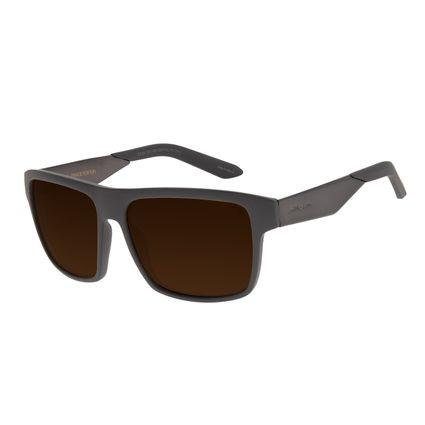 Óculos de Sol Masculino Chilli Beans New Sport Marrom Polarizado OC.ES.1251-0202