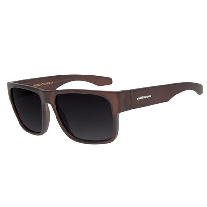 Óculos de Sol Masculino Chilli Beans New Sport Polarizado Marrom Escuro OC.ES.1232-2047