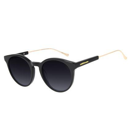 Óculos de Sol Feminino Chilli Beans Redondo Preto OC.CL.3138-2001