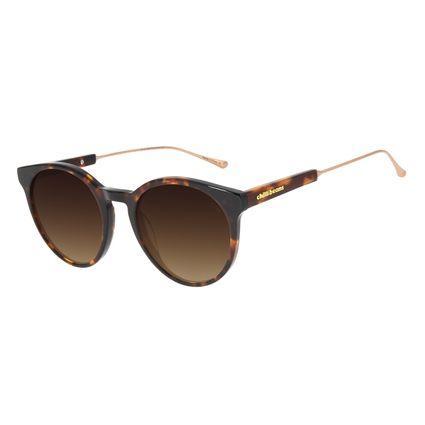 Óculos de Sol Feminino Chilli Beans Redondo Tartaruga OC.CL.3138-5706