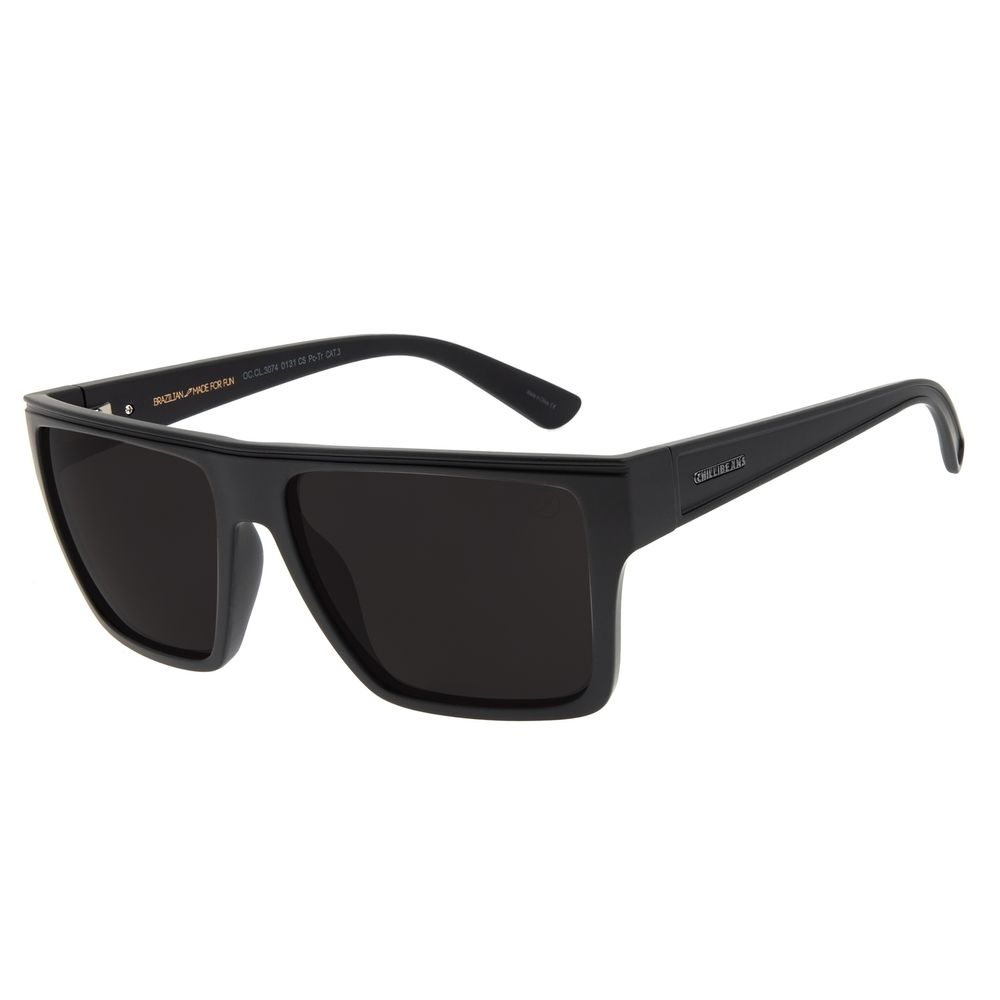 Óculos de Sol Masculino Chilli Beans Essential Bossa Nova Fosco OC.CL.3074-0131