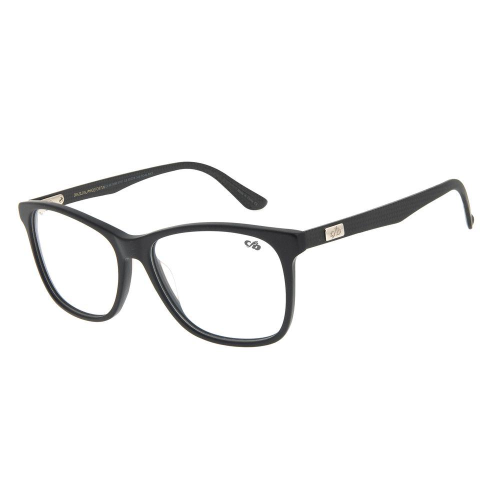 Armação Para Óculos de Grau Masculino Chilli Beans Bossa Nova Preto LV.AC.0649-0101