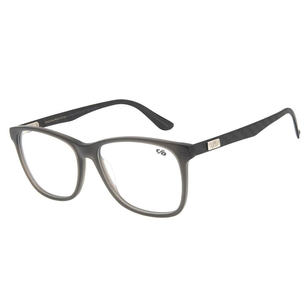 Armação Para Óculos de Grau Masculino Chilli Beans Bossa Nova Cinza LV.AC.0649-0404