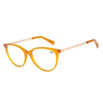 Armação Para Óculos de Grau Feminino Chilli Beans Cat Caramelo LV.AC.0659-0303