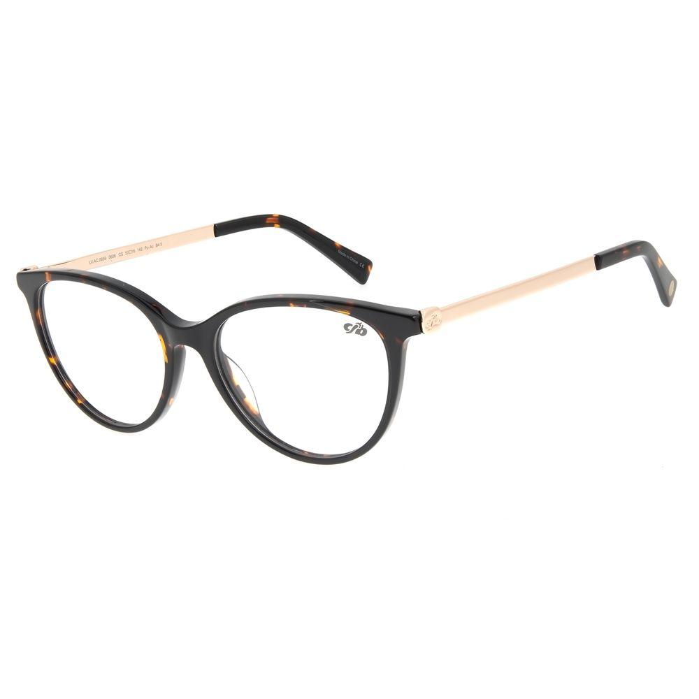 Armação Para Óculos de Grau Feminino Chilli Beans Cat Tartaruga LV.AC.0659-0606