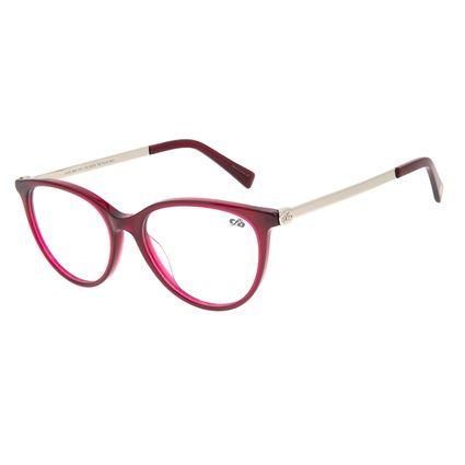 Armação Para Óculos de Grau Feminino Chilli Beans Cat Rosa LV.AC.0659-8181