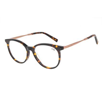 Armação Para Óculos de Grau Feminino Chilli Beans Redondo Tartaruga LV.AC.0681-0602