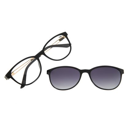Armação Para Óculos de Grau Feminino Chilli Beans Multi Preto Polarizado LV.MU.0404-2001