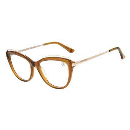 Armação Para Óculos de Grau Feminino Chilli Beans Cat Marrom LV.AC.0684-0221