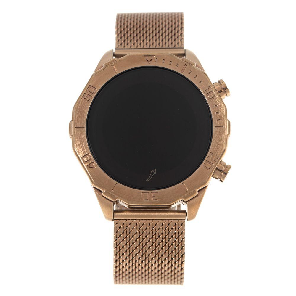 Relógio Digital Masculino Chilli Beans Fashion Metal BegeRE.MT.1039-2323